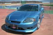 03-06 Tiburon M&S Body Kit