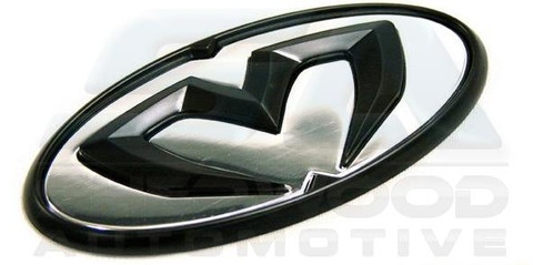Cadenza/K7 M&S BLACK/CHROME Grill TRUNK Steering Emblem