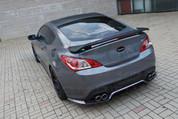 Genesis Coupe Road Runs Sport Rear Bumper Diffusor