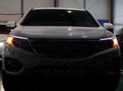 2010+ Sorento R XM LED Illuminated Headlight Eyelid Set 2pc