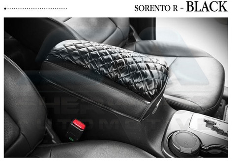 2010 Sorento R Xm Quilted Center Console Arm Rest Cover