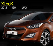 2012+ i30 LED DRL Headlights 2pc