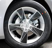 """Chevy / Holden Cruze 5 Door Carbon Mask 16"""" Wheels FULL SET 20pc"""