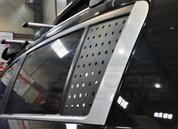 Chevy / Holden Cruze 5 Door Carbon C-Pillar Window Decal Set 2pc