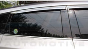 Chevy Orlando Racetech Gloss Black Door Pillar Post 4pc Set