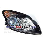 i30 / Elantra Touring Black Bezel Headlights Set 2pc