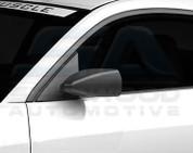 02-06 Matiz Matte Black Side Mirror Covers 2pc Set