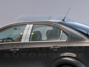 2012+ Chevy Sonic Hatchback Pillar Post Trim 4pc