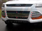 2013 Ford Escape CHROME Grill Accent Trim 8 pc