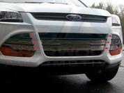 2013 Ford Escape CHROME Grill Accent Trim Vent Cover 6pc