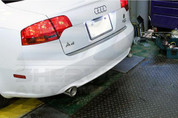 Audi A4 Dual Exhaust Tips DIY Set 5pc