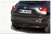 2010+ Nissan Juke Chrome Rear Bumper Light Reflector Surround Se