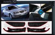 Avante XD DUB Edition Interior Door Cover Protector Set 4pc