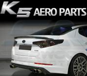 2011-2013 Optima K5 Sequence Carbon Fiber Rear Bumper Diffusor
