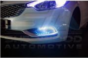 2014+ Forte K3 2-way LED Fog Light DRL Module Set 2pc DIY