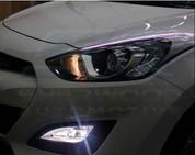 2014+ Forte K3 Illuminated Headlight Eyeline Set 2pc DIY
