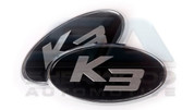 "2014+ Forte ""K3"" Emblem Package 2pc"