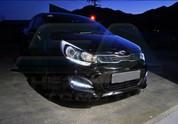 2012+ Rio 5dr M&S LED DRL Fog Light Bezel Set 2pc