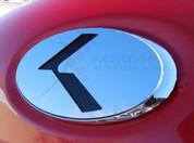 "Quoris / K9 ""K"" VIP Platinum Series Stainless Steel Emblem"