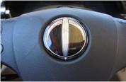 04-06 Amanti Opirus Tomato ROUND Steering Wheel Emblem Logo Over