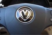 04-06 Amanti/Opirus M&S ROUND Steering Wheel Emblem Logo Overlay