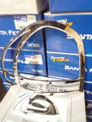 2005-2006 Santa Fe Chrome Taillight Covers 2pc