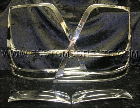Sorento Chrome Garnish Kit (A-Type)
