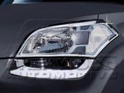 Soul Chrome Headlight Trims