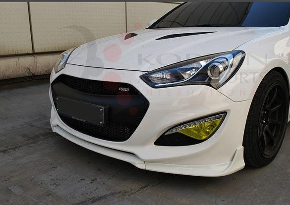 2013 2014 Genesis Coupe M Amp S Front Lip Valance 3pc Set