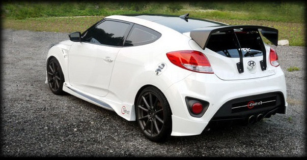 Veloster Turbo Adro Full Body Kit Korean Auto Imports