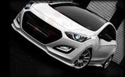 2012+ i30 ADRO Front Bumper Valance Lip Attachment