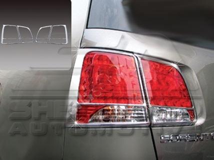 2011+ Sorento Chrome Taillight Covers 4pc
