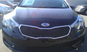 2014 + Forte Cerato Sedan K3 PLATINUM/Carbon 3D Badge Emblem Set Grill Trunk Caps Steering
