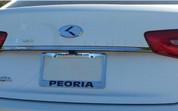 2012 + Rio Pride Hatchback PLATINUM/Carbon 3D Badge Emblem Set Grill Trunk Caps Steering