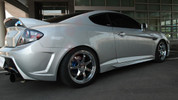 2007-2009 Tiburon NEFD HX40 Side Skirts 2pc Set