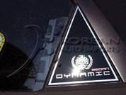"2007 Elantra ""Dynamic Sedan"" C Pillars"