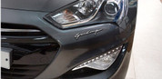 "Genesis Sedan Prada Edition ""GP500"" Chrome Letter Emblem"