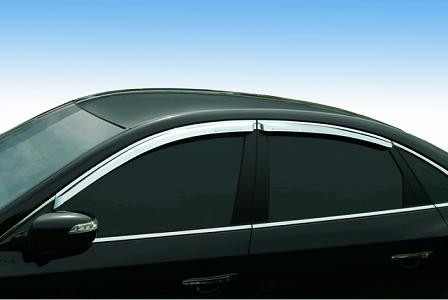 Azera Chrome Window Visors