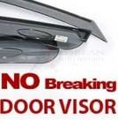 2014+ Sorento R OE Tinted Window Vent Visors 4pc Set