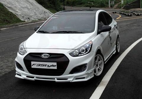 2011+ Accent/Solaris F3Style Body Kit 3pc - Korean Auto ...