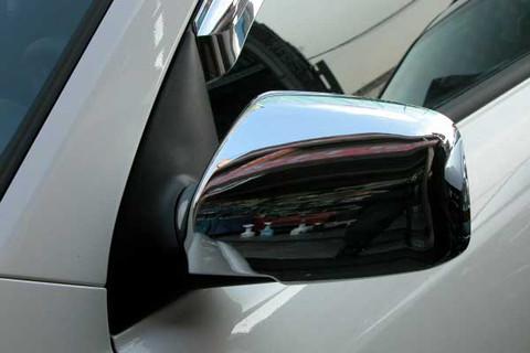 2005 2006 2007 2008 Kia Sportage Chrome Side Mirror Covers Set 2pc