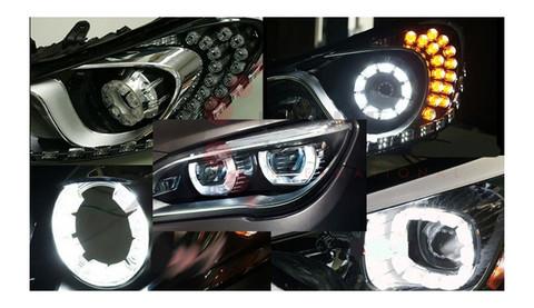 2012+ i30 XLOOK Premium CC POWER LED Angel Eyes 2pc Set
