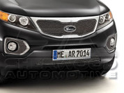 2011+ Sorento Stainless Steel Bumper Mesh Grill