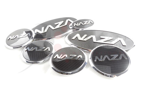 NAZA Picanto/Morning Emblem Package Grill / Trunk / Steering / Caps 7pc