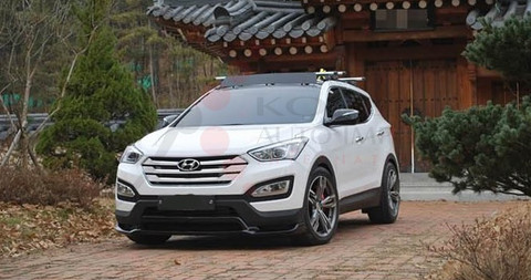 2013 2014 Santa Fe DM/ix45 Luxgen Body Kit