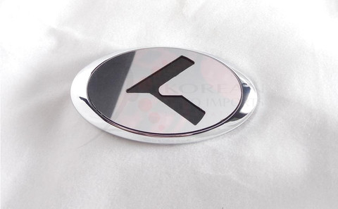 """2007+ Picanto / Morning LODEN Platinum """"K"""" Replacement Steering Wheel Emblem"""