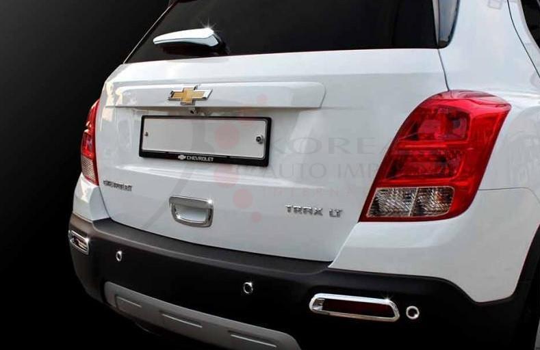Chevy Trax Chrome Rear Molding Set Wiper Handle Sensor Lights