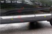 "2010 - 2013 Sorento LX / EX Chrome / Stainless Steel Rocker Panel Trim ""L-Type"" 4 pc"