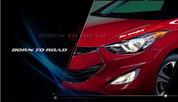 2013+ Elantra Coupe Body Decal Sticker