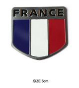 France Shield Accent Emblem Badge Logo